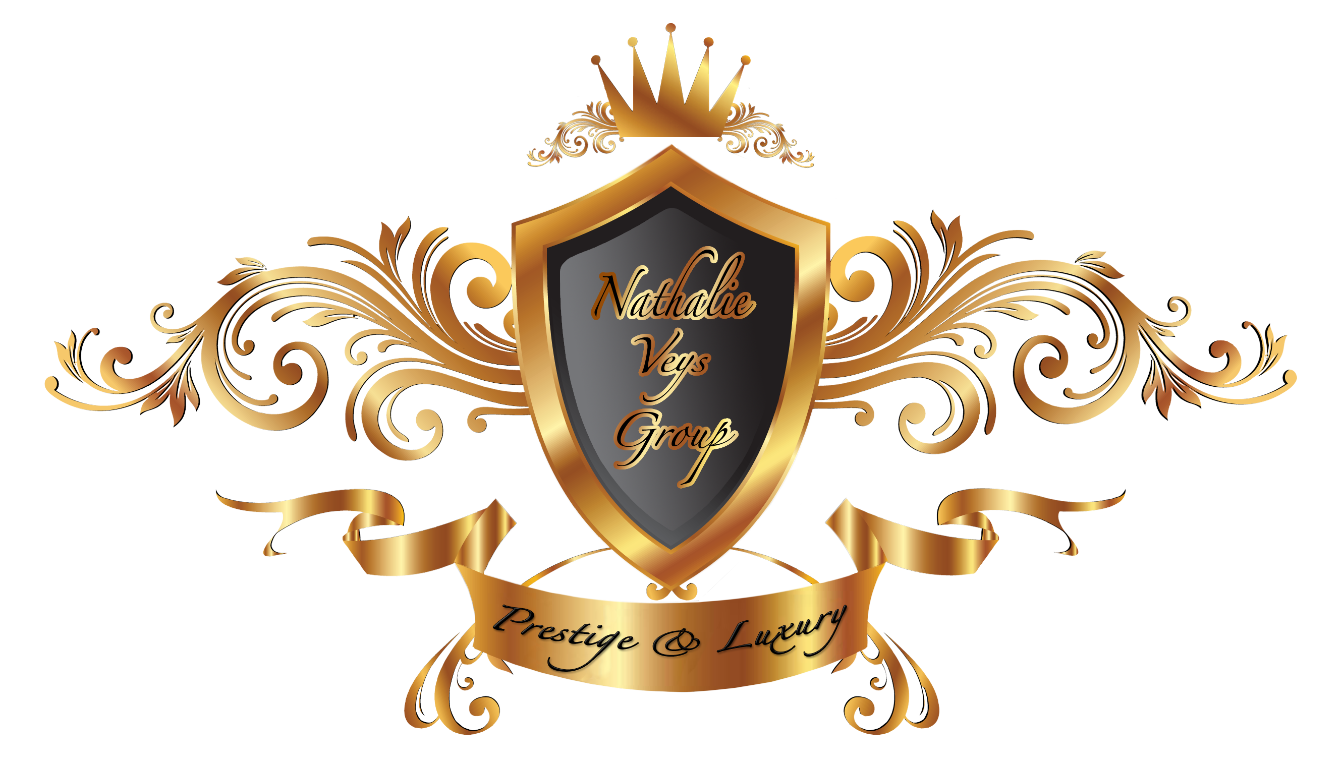 Prestige & Luxury - Nathalie Veys Group LOGO (Transparent)